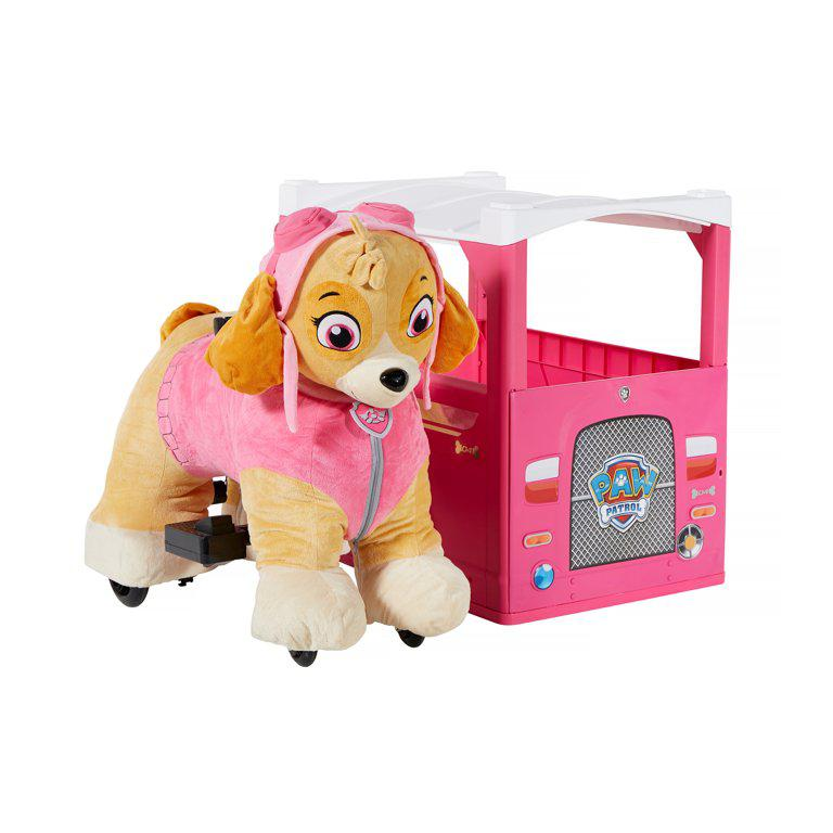 Archive: Paw Patrol Plush Skye 6v Battery Ride-on