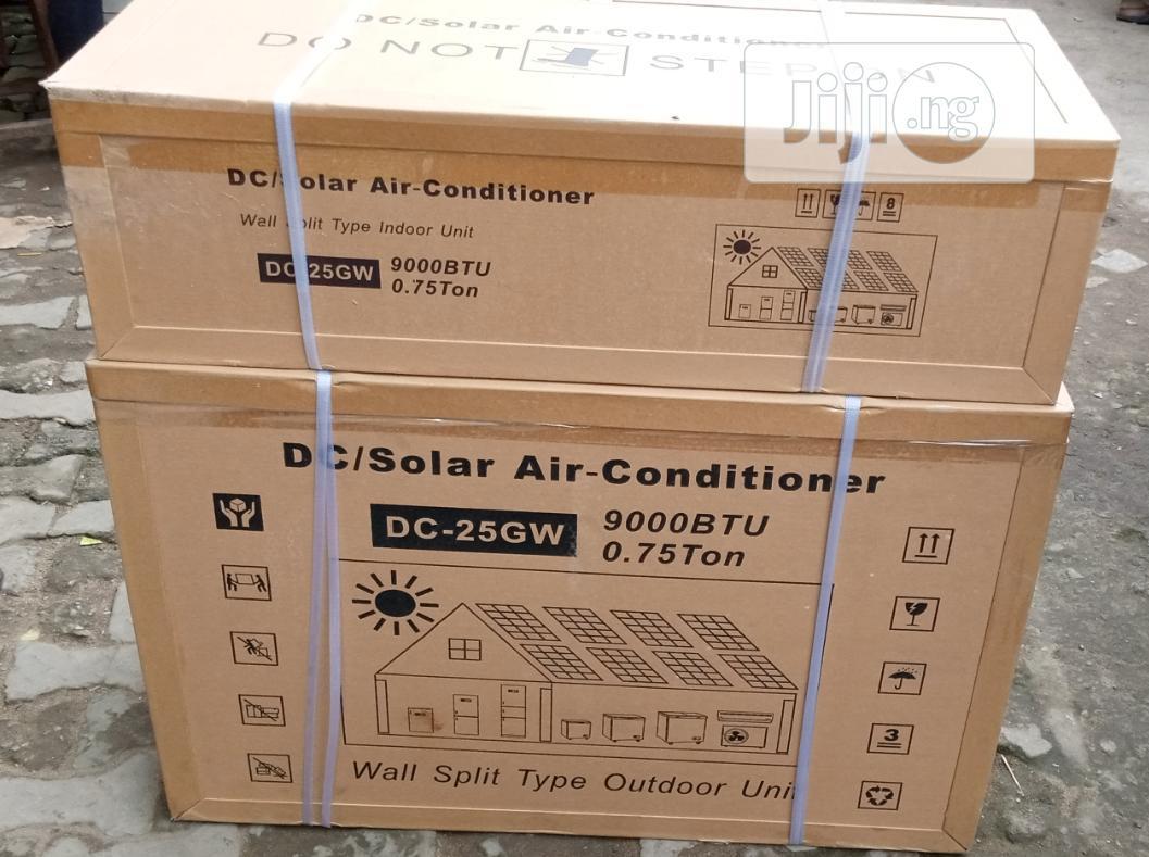 1.5hp 24volt DC Solar Air Conditioner