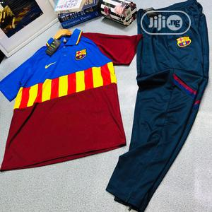 Barcelona Polo and Joggers   Clothing for sale in Lagos State, Lagos Island (Eko)