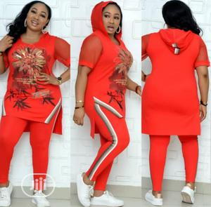 Quality Female Top/Trousers With Hood | Clothing for sale in Lagos State, Magodo