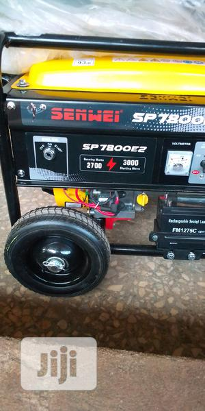 SENWEI Petrol Generators With Key And Tyres | Electrical Equipment for sale in Delta State, Ika North East