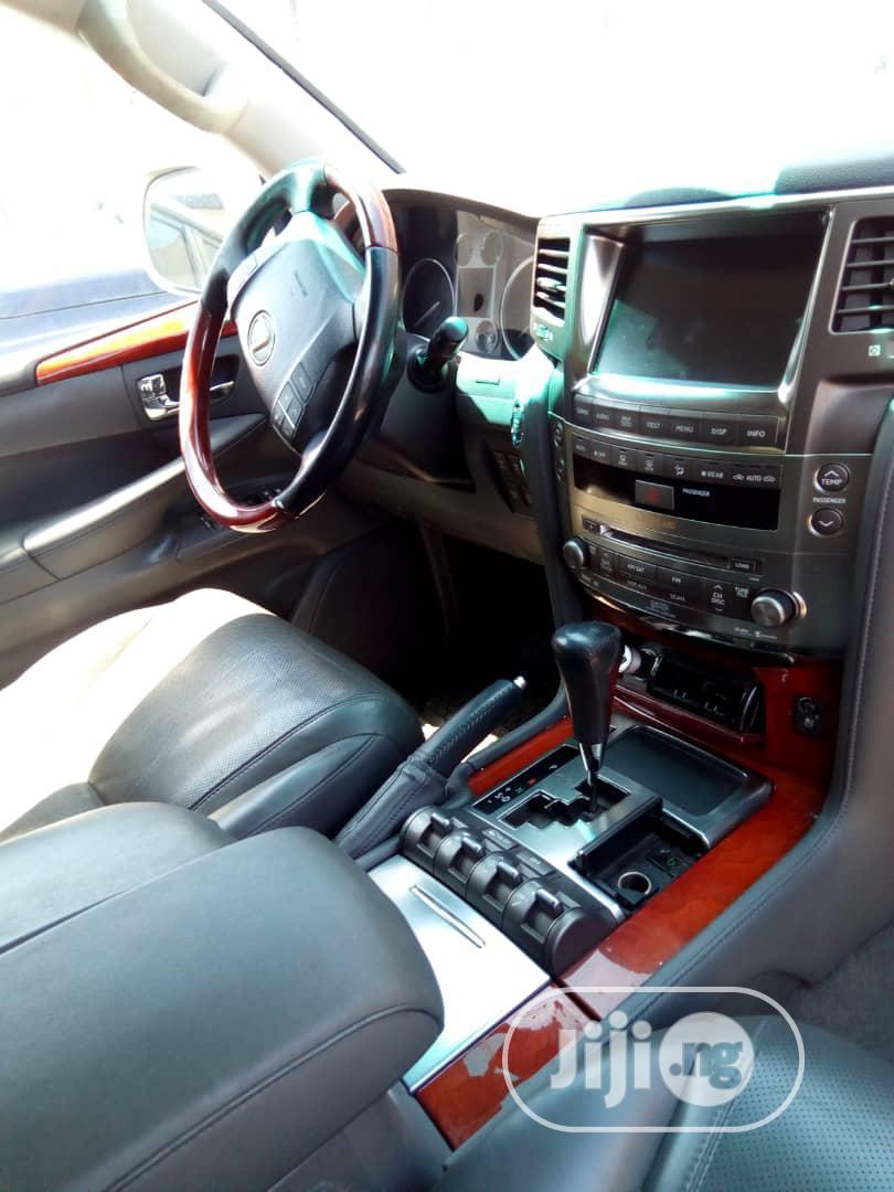 Lexus LX 2008 570 Silver | Cars for sale in Ikeja, Lagos State, Nigeria