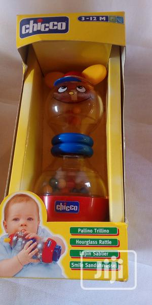 Chicco Hour Glass Rattle | Toys for sale in Lagos State, Ipaja