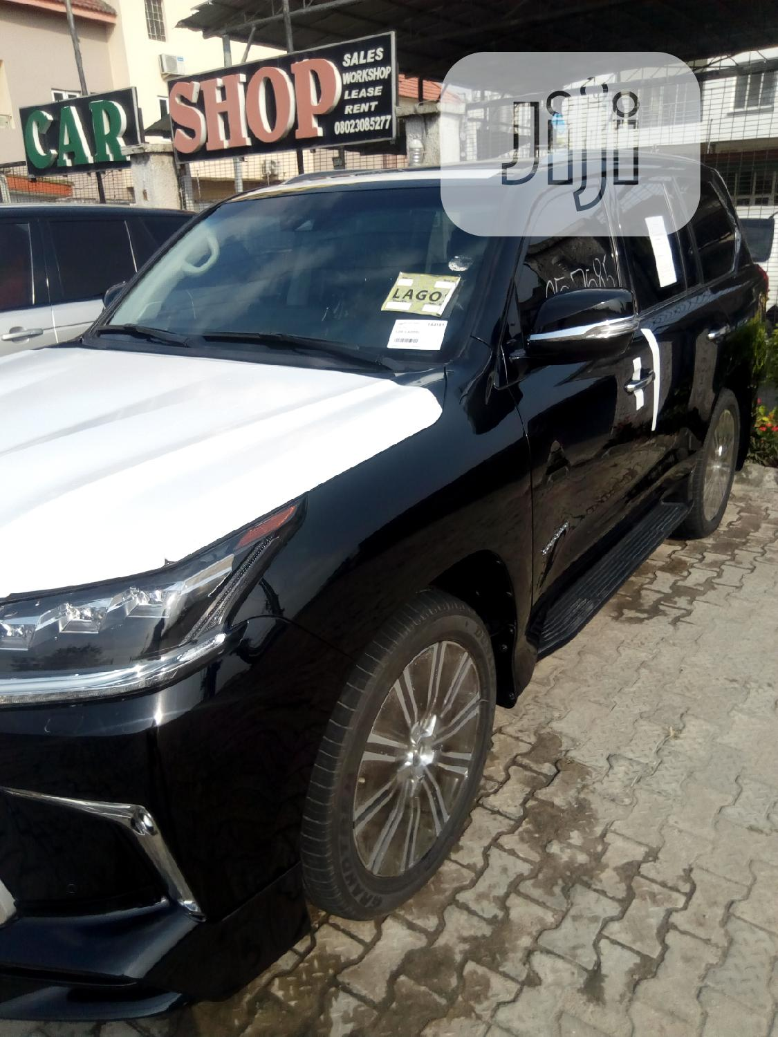 Lexus LX 2018 Black | Cars for sale in Victoria Island, Lagos State, Nigeria