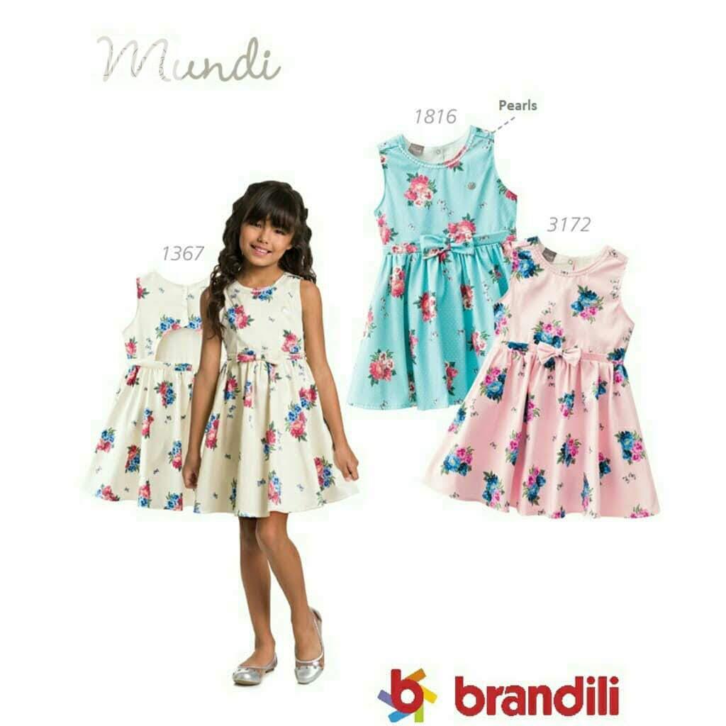 Archive: Brandili-mundi Floral Girl Dress