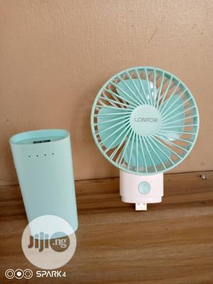 4 Inch Mini Rechargeable Fan With Power Bank | Home Appliances for sale in Lagos State, Oshodi
