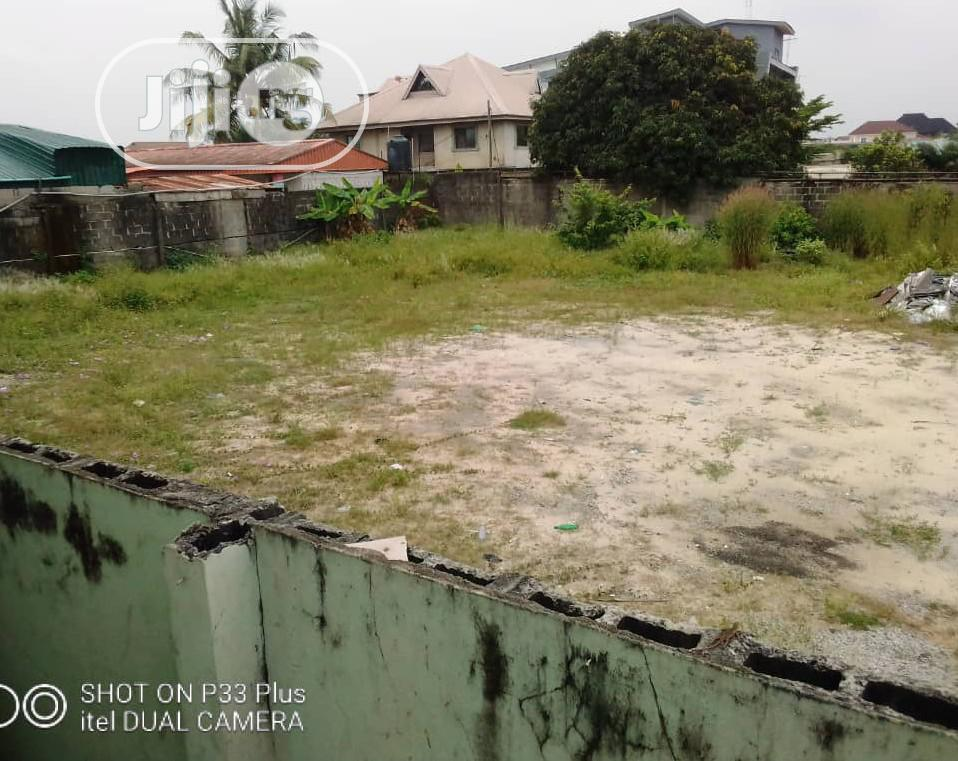 A Land Facing the Express Way Is for Lease in Sangotedo .