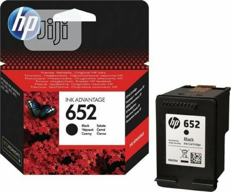 HP 652 Original Ink Cartridge -
