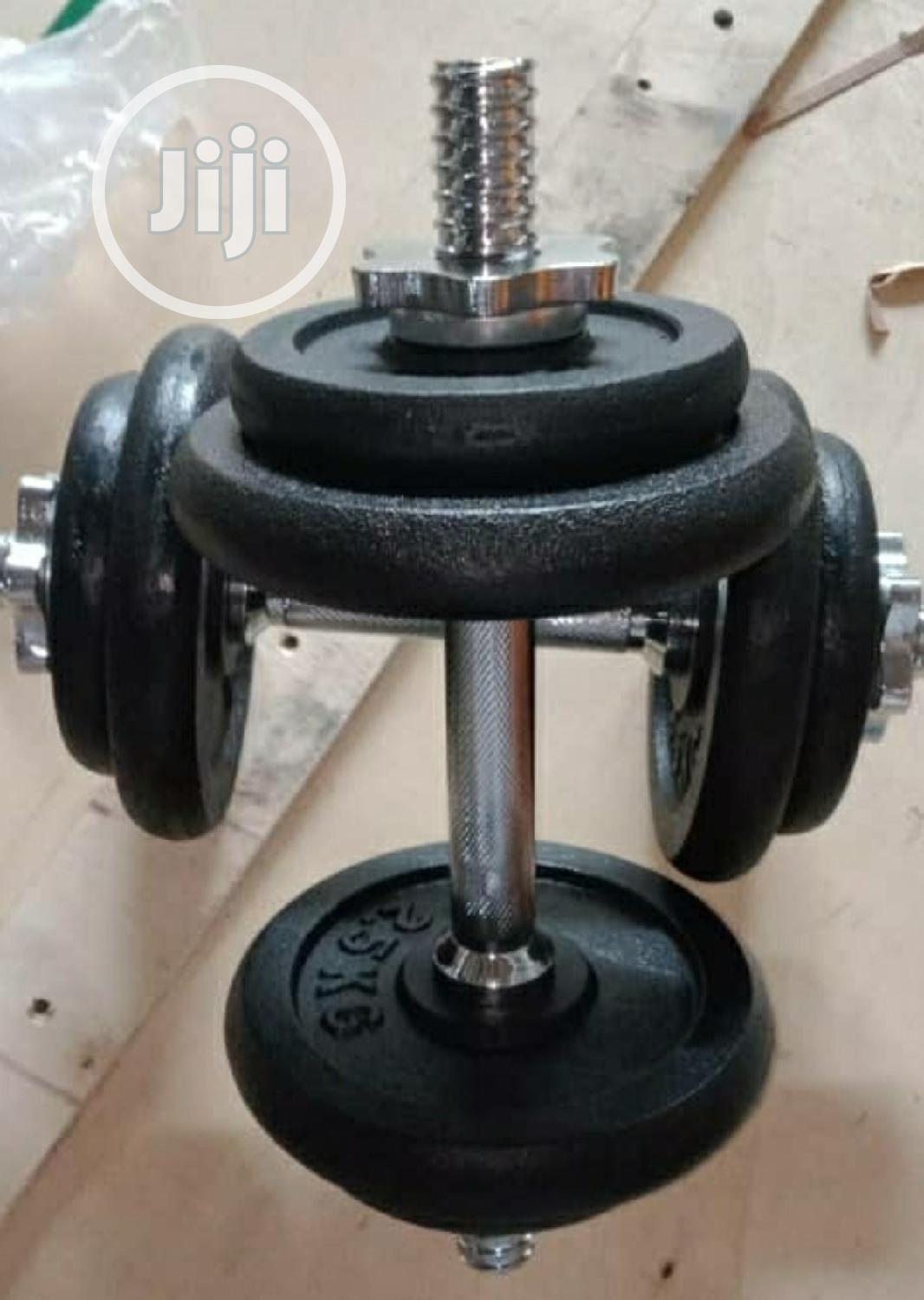 20kg Dumbbells   Sports Equipment for sale in Surulere, Lagos State, Nigeria