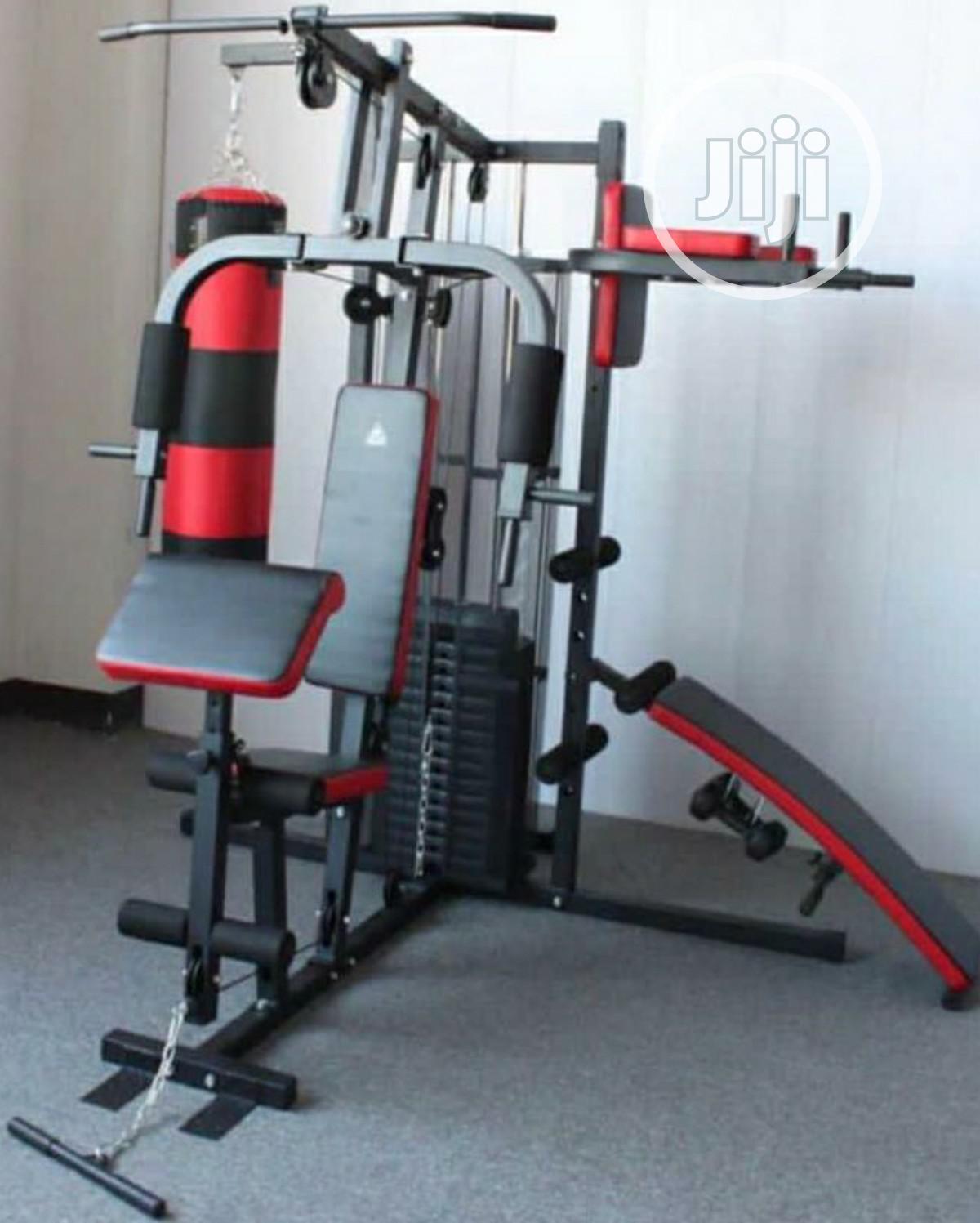 3 Station Gym