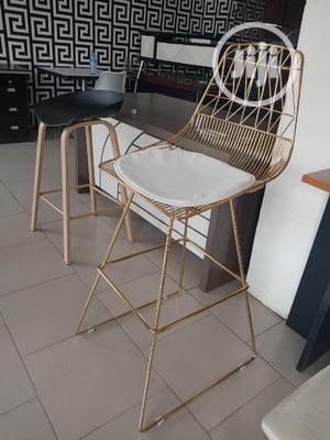 Good Quality Gold Barstool. | Furniture for sale in Abuja (FCT) State, Asokoro