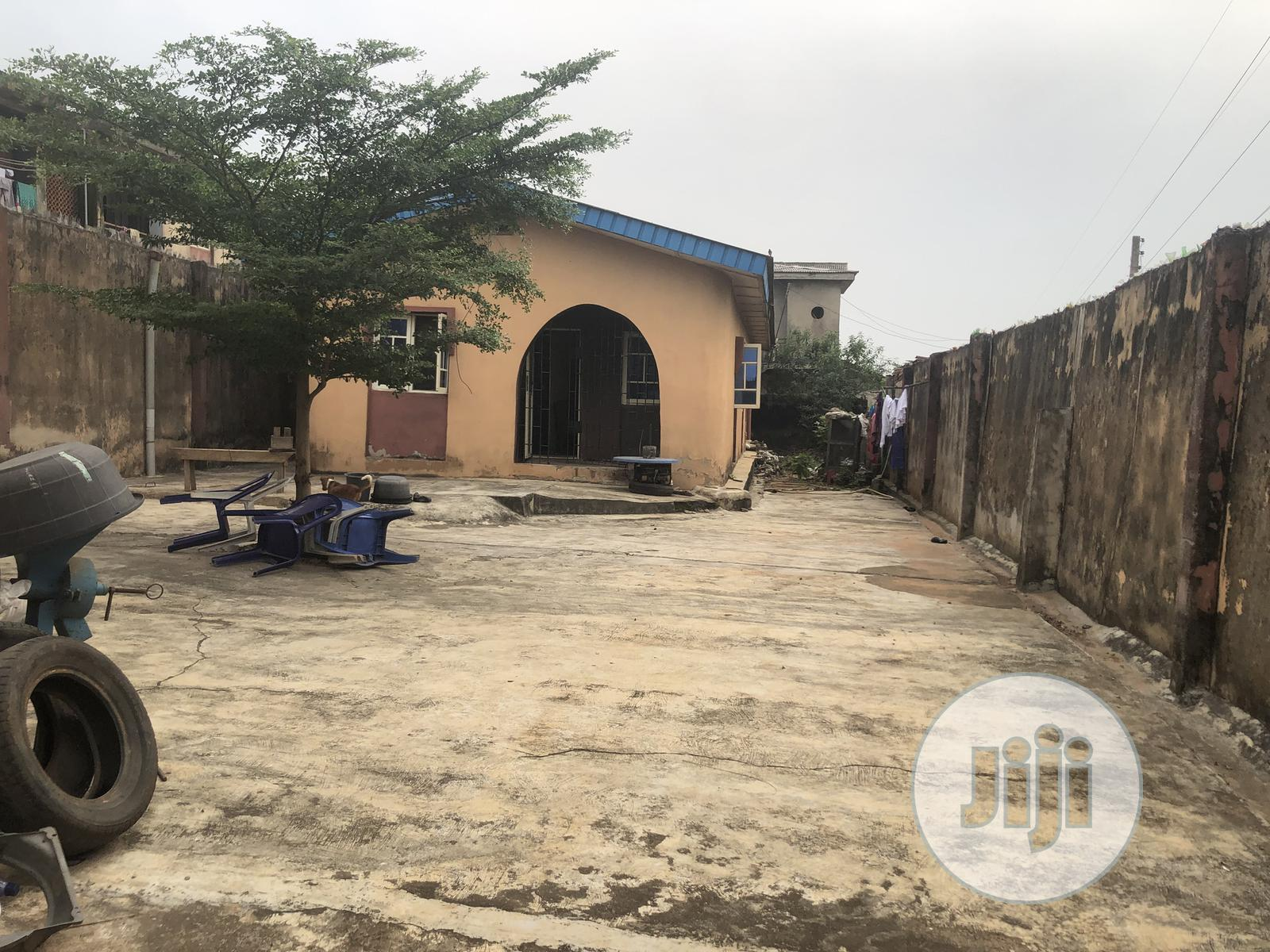 4 Bedroom Bungalow For Sale In Meiran | Houses & Apartments For Sale for sale in Abule Egba, Lagos State, Nigeria