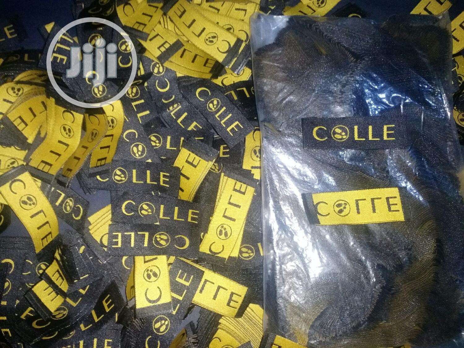 1000 Pcs of Customized Woven Labels for Bag,Clothing Shoes