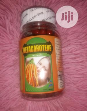 Beta Carotene Capsules, 500mg (100capsules) | Vitamins & Supplements for sale in Lagos State, Mushin