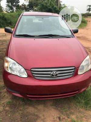 Toyota Corolla 2004 Sedan Red   Cars for sale in Oyo State, Akinyele