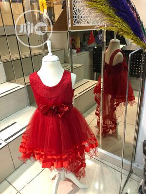 Red Ball Gown | Children's Clothing for sale in Lagos State, Amuwo-Odofin