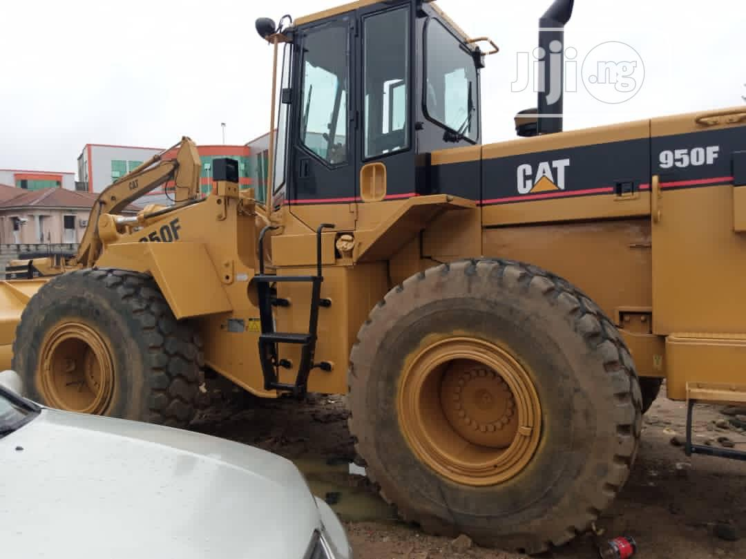 Solid CAT PAYLOADER 950F For Sale | Heavy Equipment for sale in Port-Harcourt, Rivers State, Nigeria