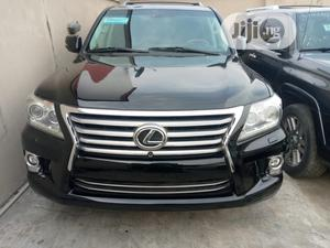 Lexus LX 2015 570 Base Black   Cars for sale in Lagos State, Surulere