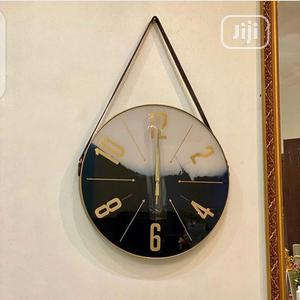 Beautiful Round Wall Clock With Belt | Home Accessories for sale in Lagos State, Surulere
