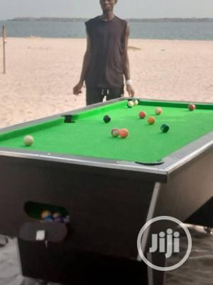 Green Felt Local Snooker Table | Sports Equipment for sale in Lagos State, Surulere