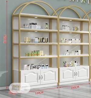 Gold Design Open Shelf | Furniture for sale in Lagos State, Ajah
