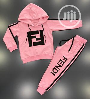 Quality Design Pink Hoodies for Girls   Children's Clothing for sale in Lagos State, Lagos Island (Eko)