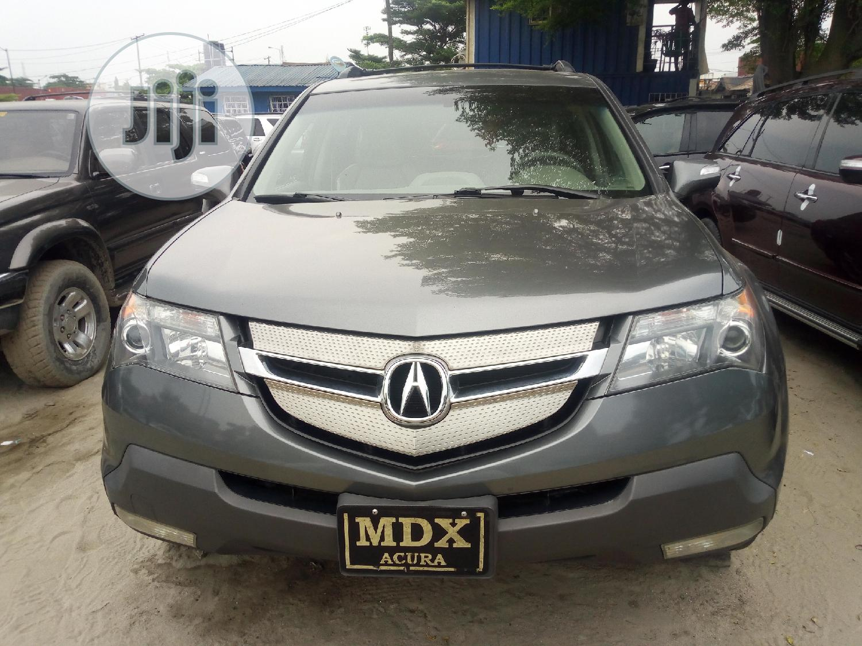 Acura MDX 2008 Gray