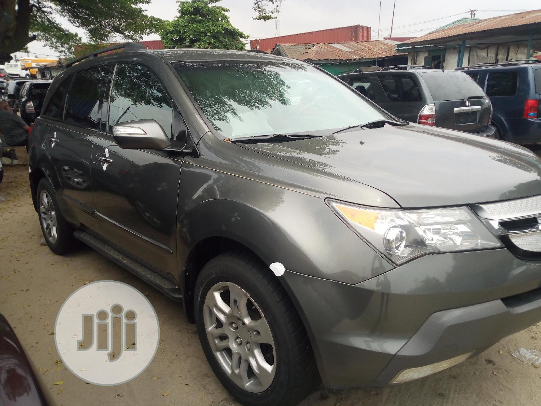Acura MDX 2008 Gray | Cars for sale in Amuwo-Odofin, Lagos State, Nigeria