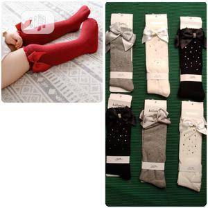 Baby Girls Knee High Socks | Children's Clothing for sale in Lagos State, Ipaja