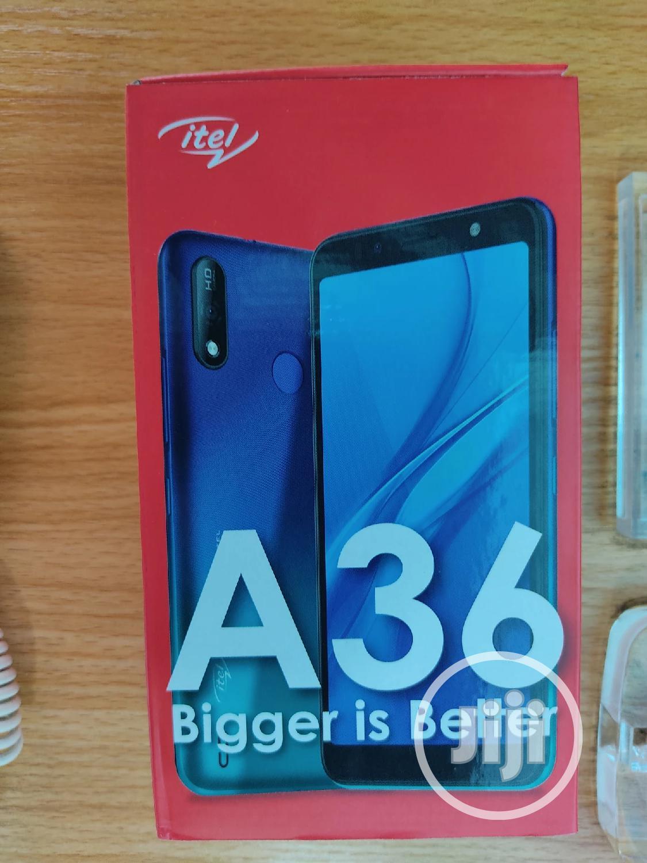 New Itel A36 16GB Blue
