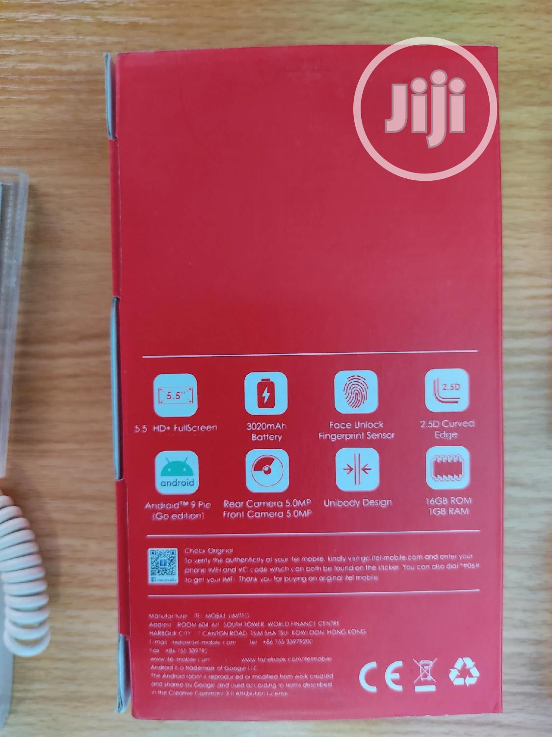 New Itel A36 16GB Blue | Mobile Phones for sale in Ikeja, Lagos State, Nigeria