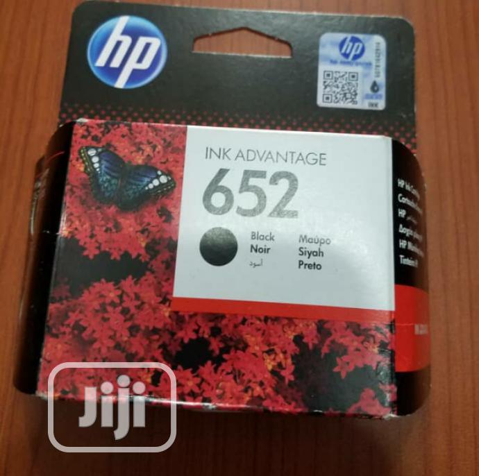Archive: HP 652 Black Inkjet