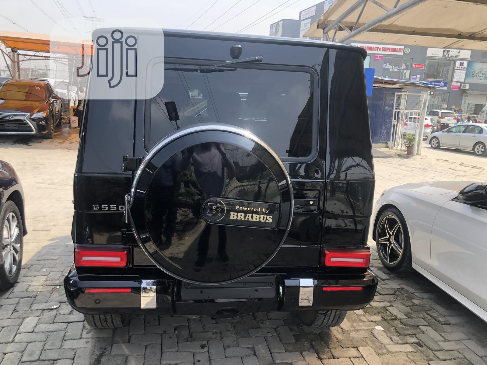 Mercedes-Benz G-Class 2016 Base G 550 AWD Black   Cars for sale in Lekki, Lagos State, Nigeria