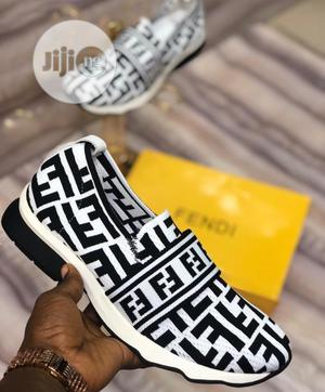 Fendi Canvas for Both   Shoes for sale in Lagos State, Lagos Island (Eko)