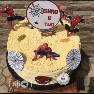 Spider-man Theme Cake 🎂   Meals & Drinks for sale in Abuja (FCT) State, Kubwa