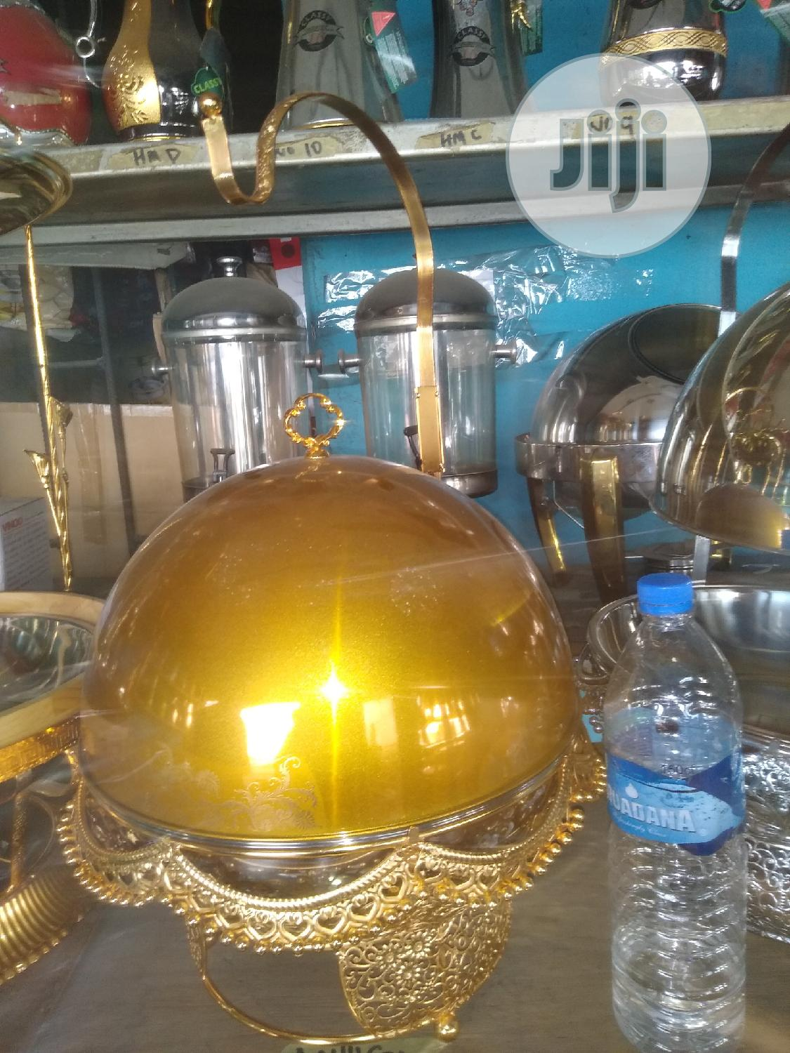 Chaffing Dishes Gold And Silver | Party, Catering & Event Services for sale in Lagos Island (Eko), Lagos State, Nigeria
