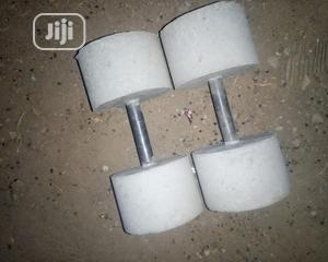 10kg Locally Made Dumbbells Affordable   Sports Equipment for sale in Abuja (FCT) State, Gwagwalada