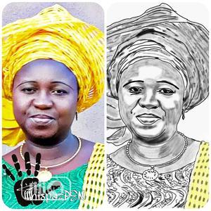 Digital Sketch & Framing | Arts & Crafts for sale in Lagos State, Ojodu