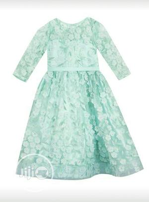 Mint Green Organza Dress   Children's Clothing for sale in Lagos State, Oshodi