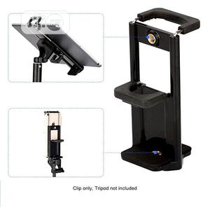 Mobile Phone iPad Tripod Mount Clip Holder   Accessories for Mobile Phones & Tablets for sale in Lagos State, Ikeja