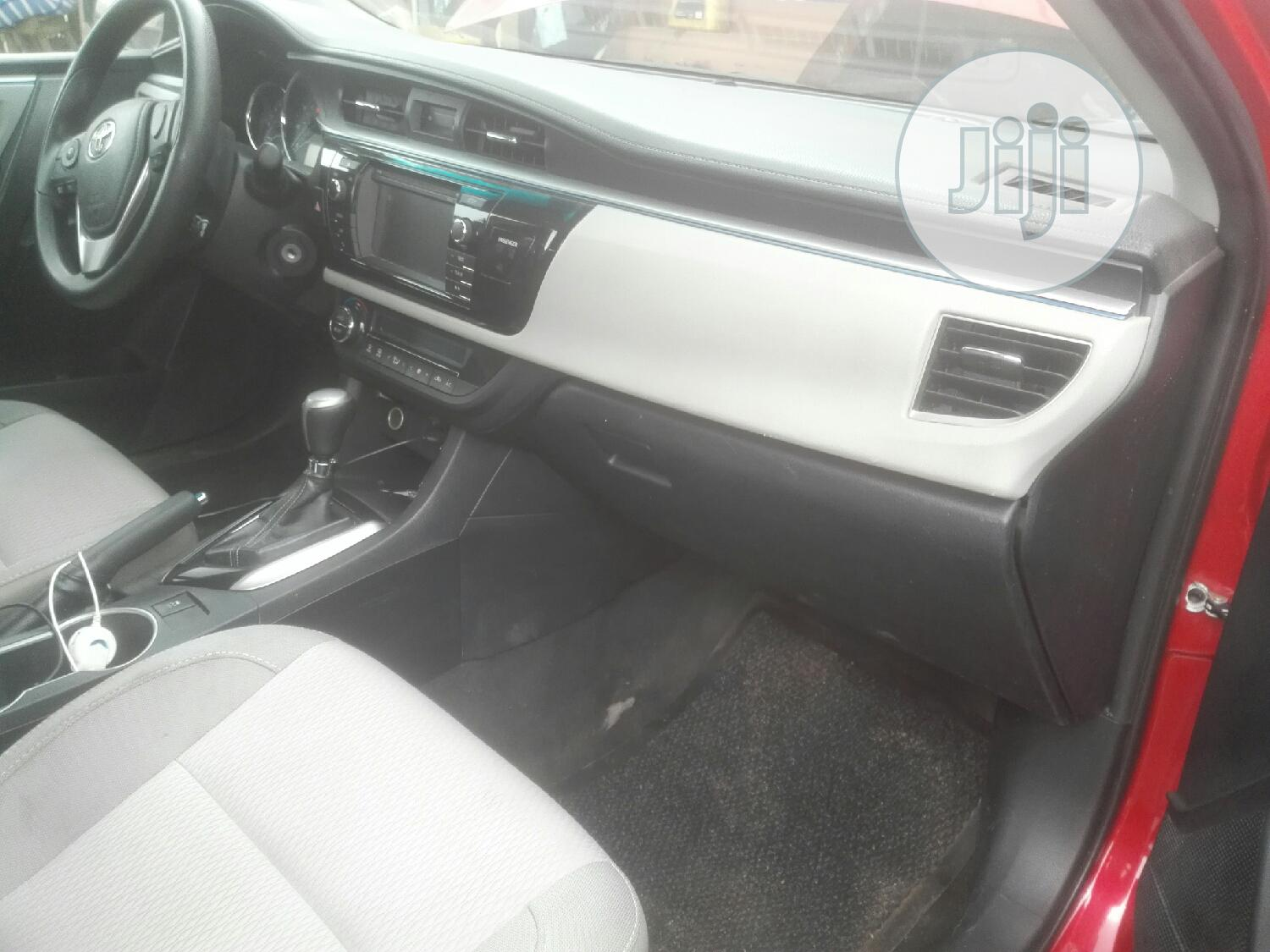 Toyota Corolla 2015 Red | Cars for sale in Ejigbo, Lagos State, Nigeria