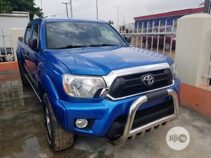 Toyota Tacoma 2012 Access Cab V6 Automatic Blue   Cars for sale in Lagos State, Ikeja