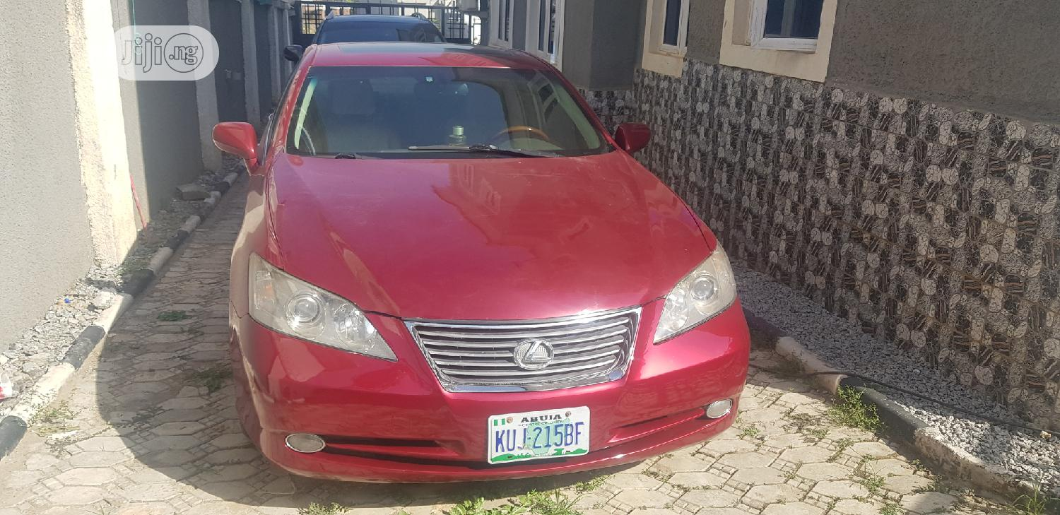 Lexus ES 2009 350 Red | Cars for sale in Apo District, Abuja (FCT) State, Nigeria