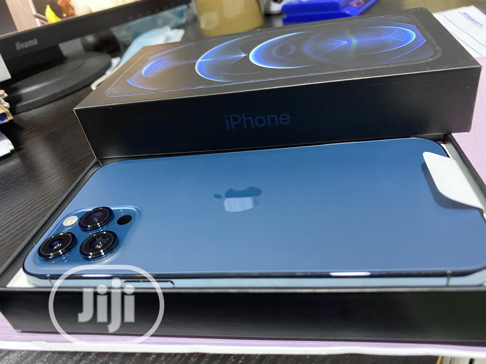 New Apple iPhone 12 Pro Max 256GB Blue | Mobile Phones for sale in Ikeja, Lagos State, Nigeria