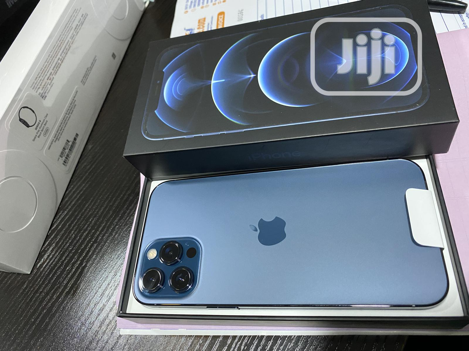 New Apple iPhone 12 Pro Max 256GB Blue