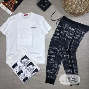 Original Supreme Up&Dawn Joggers With Tops   Clothing for sale in Lagos State, Lagos Island (Eko)