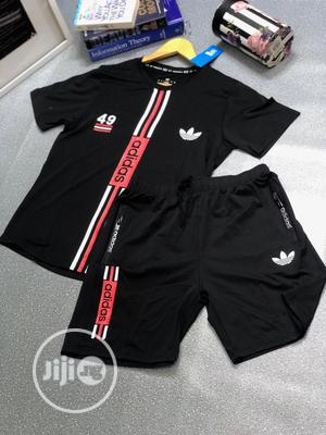 Adidas T-Shirt Short   Clothing for sale in Lagos State, Ilupeju