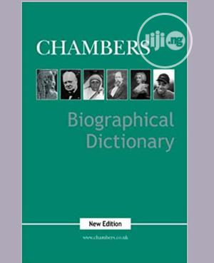 Chambers Biographical Dictionary   Books & Games for sale in Lagos State, Surulere