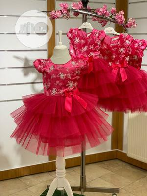 Pink Dress For Girls   Children's Clothing for sale in Lagos State, Yaba