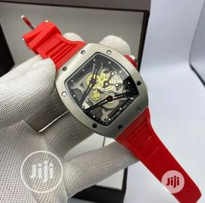 Richard Mille Men's Red Rubber Wristwatch | Watches for sale in Lagos State, Surulere